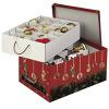 Una comoda scatola per gli addobbi natalizi