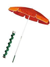 L'ombrellone da spiaggia elettrico