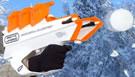 Il fucile spara palle di neve