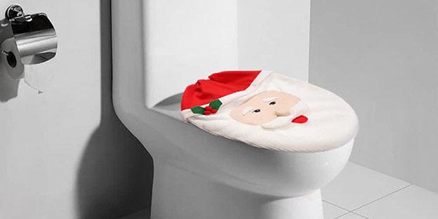 Decorazioni natalizie per... il bagno