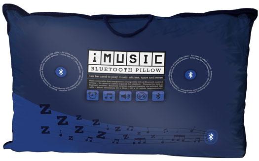 Il cuscino musicale con il bluetooth