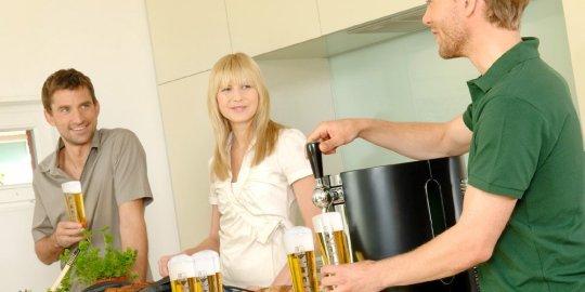 Spillatrice di birra alla spina