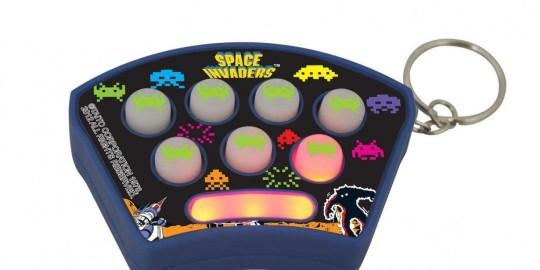 Il portachiavi Space Invaders