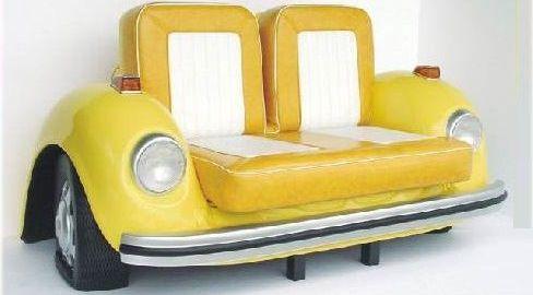 Il divano Maggiolino