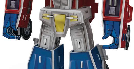 Il robot puzzle 3d