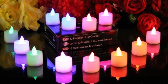 Le candele... a batteria