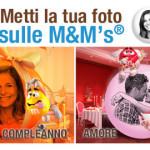 La vostra foto sugli M&M'S® per i momenti speciali