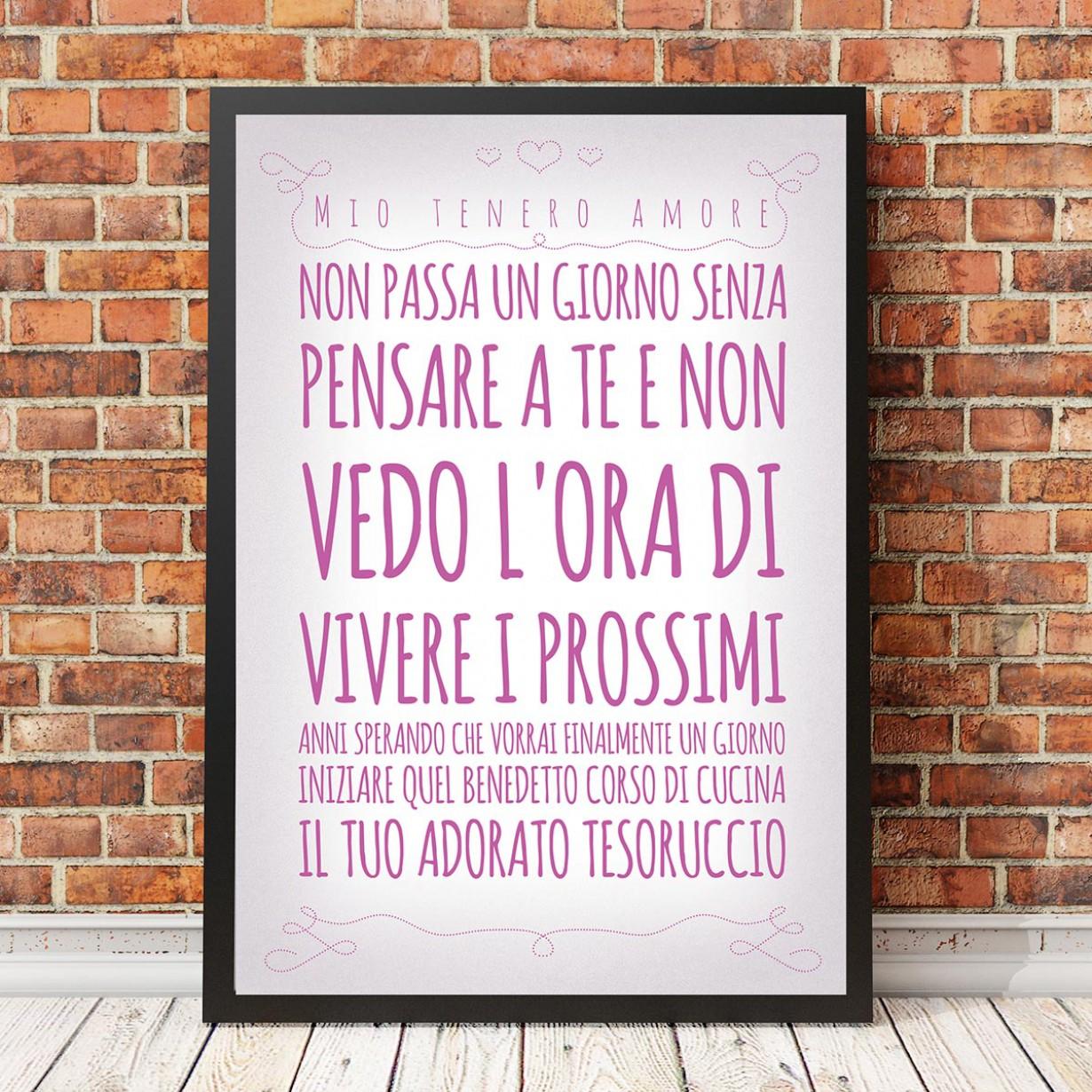 Dillo con un poster… romantico
