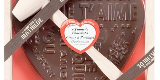 Un dolce cuore di cioccolato...