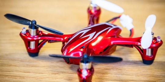 Il mini quadrocopter
