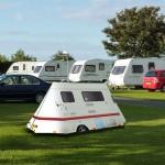 La tenda da campo roulotte