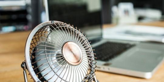 Mini ventilatore da scrivania usb