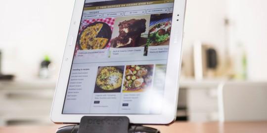 iPrep, il pratico supporto per tablet