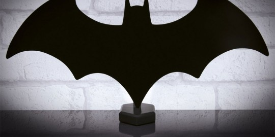 La lampada a led di Batman