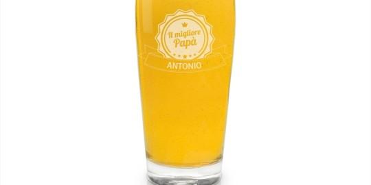Il boccale da birra personalizzabile
