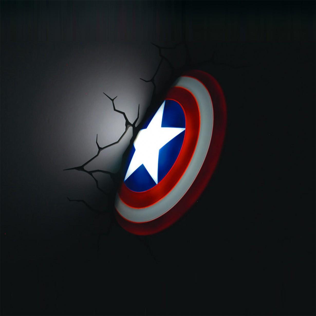 "Le lampade da muro ""Avengers"""