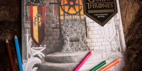 Un libro da colorare di Game Of Thrones