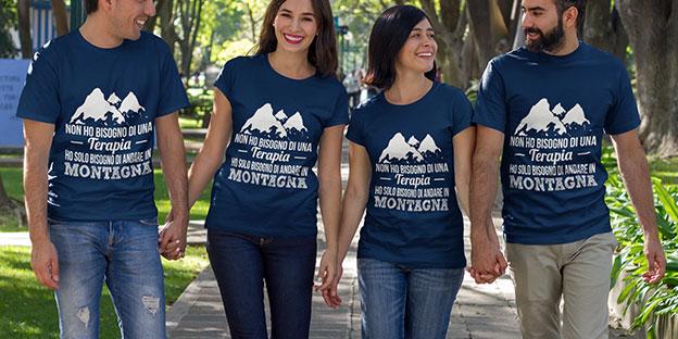 Ami la montagna? Indossala!